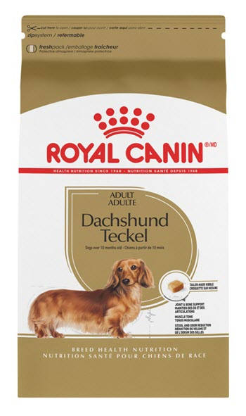 Royal Canin Breed Health Nutrition Dachshund Adult 28 Dry Dog Food