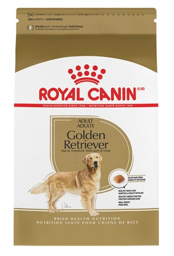Royal Canin Breed Health Nutrition Golden Retriever Adult 25 Dry Dog Food