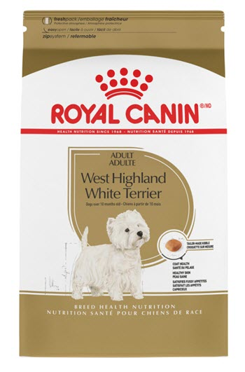 Royal Canin Breed Health Nutrition Westie Adult 21 Dry Dog Food