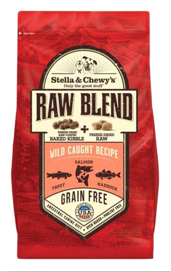 Stella & Chewy's Raw Blend Wild Caught Recipe Baked Dog Kibble