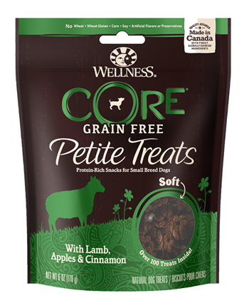 Wellness Core Petite Lamb Apple & Cinnamon Soft Freeze Dried Dog Treats