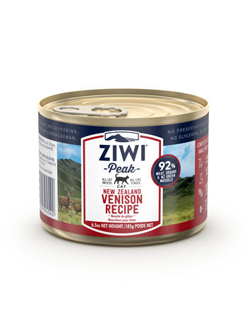 ZiwiPeak Daily Cat Cuisine Canned Venison