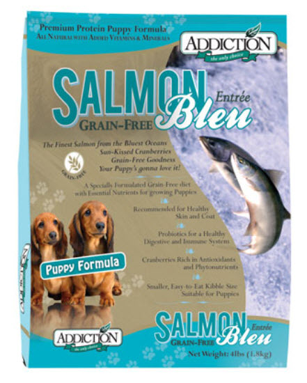 Addiction Puppy Salmon Bleu Dry Dog Food