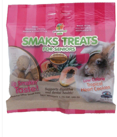 American Pet Diner Smaks Treats Senior Tropical Cookies