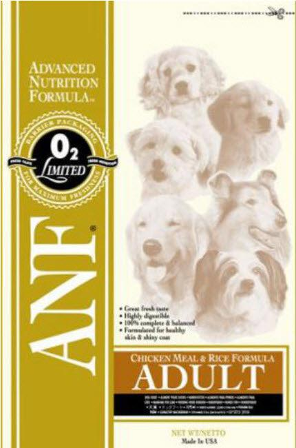 ANF Chicken Meal and Rice Dry Dog Food