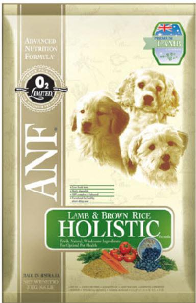ANF Holistic All Life Stages Lamb and Rice Dry Dog Food