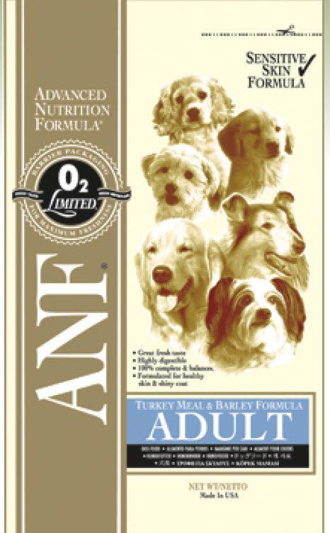 ANF Turkey Meal and Barley Dry Dog Food