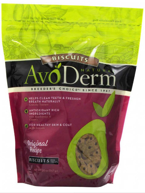 Avoderm Natural Oven-Baked Kookies Healthy Dog Treats