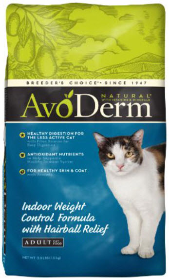 AvoDerm Indoor Weight Control Dry Cat Food