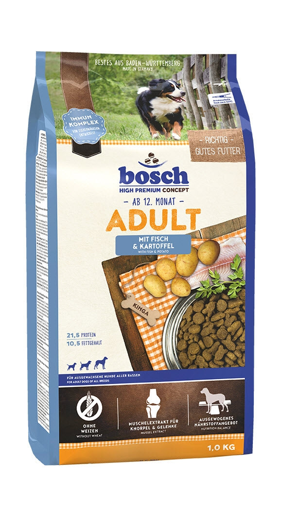 Bosch High Premium Adult Fish & Potato Dog Food