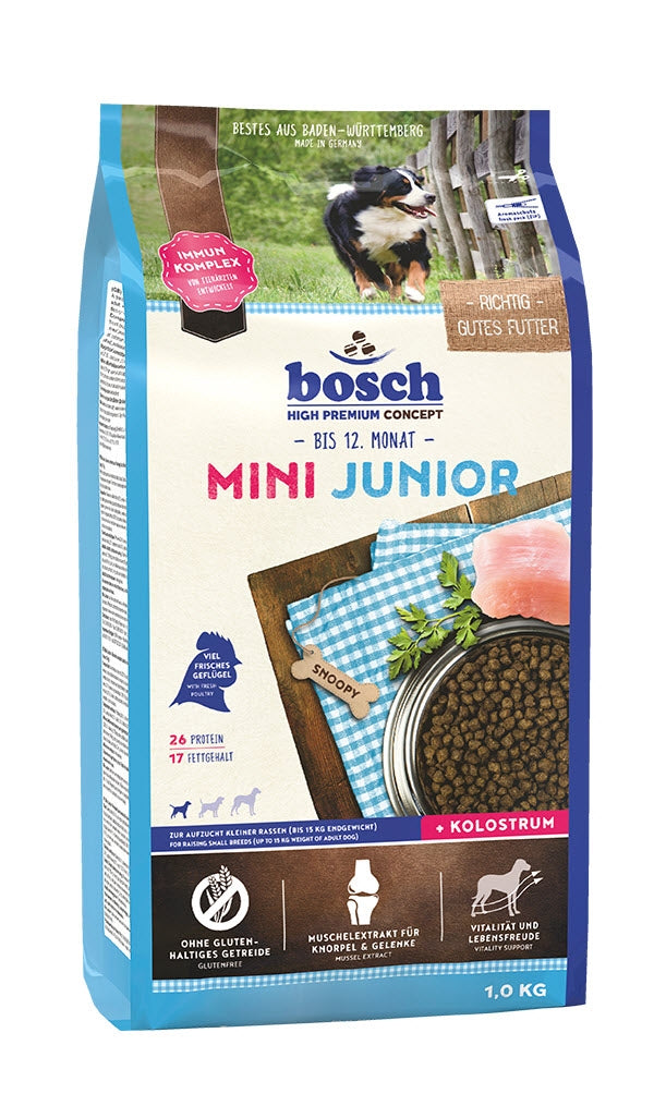 Bosch High Premium Mini Junior Dog Food