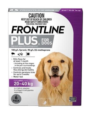 OSCAS Frontline Plus Flea & Ticks for Large Dogs Donations