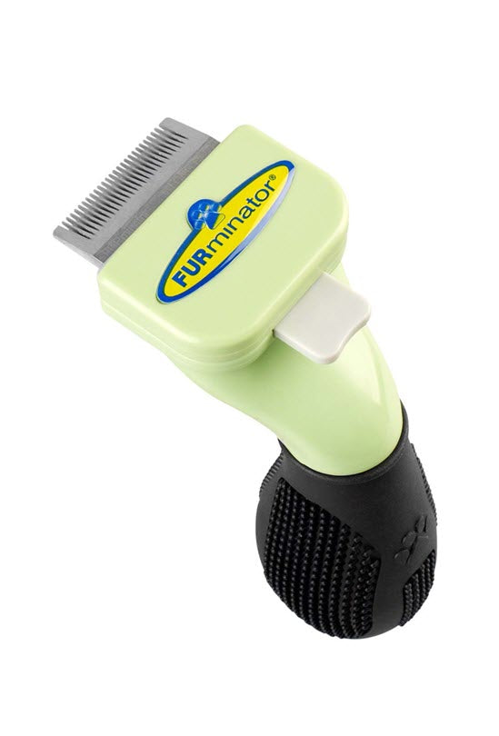 Furminator Dog Deshedding Tool for Long Hair Pets