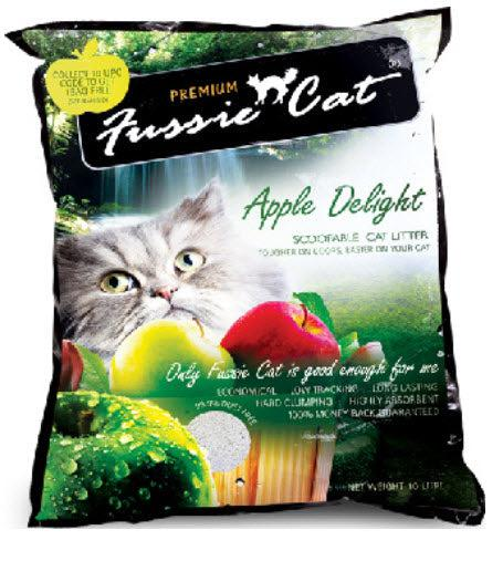 Fussie Cat Cat Litter Apple Delight (Buy 3 Bundle Pack)