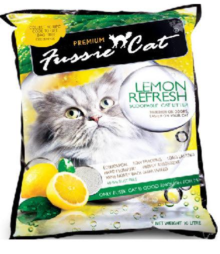 Fussie Cat Refresh Lemon Scented Litter (Buy 3 Bundle Pack at $27)