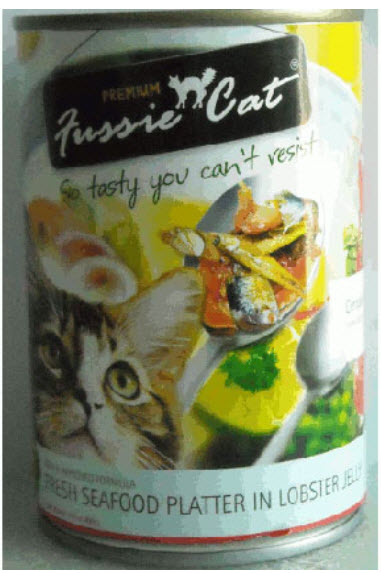 Fussie Cat Fresh Seafood Platter In Lobster Jelly Canned Cat Food