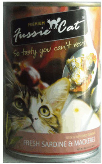 Fussie Cat Fresh Sardine and Mackerel Canned Cat Food