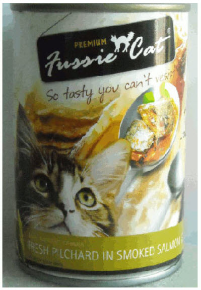 Fussie Cat Fresh Pilchard In Smoked Salmon Jelly Canned Cat Food