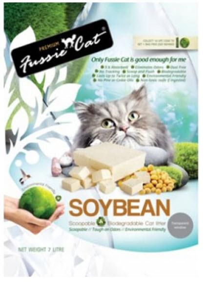 Fussie Cat Cat Litter Soybean