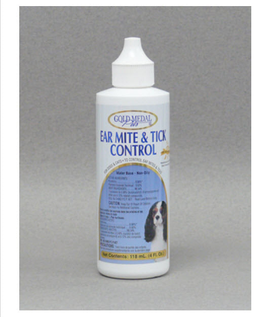 Gold Medal Pets Ear Mites & Ticks Control for Dogs & Cats