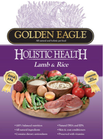 Golden Eagle Holistic Health Lamb and Rice Dry Dog Food
