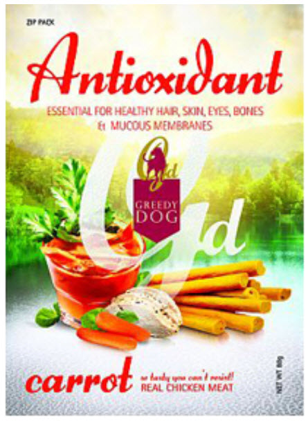 Greedy Dog Antioxidant Carrot Dog Treat