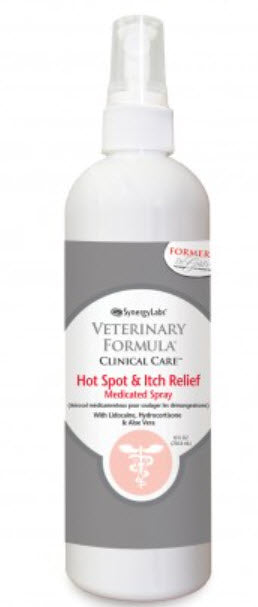 SynergyLab Veterinary Formula Clinical Care Hot Spot & Itch Relief Medicated Spray