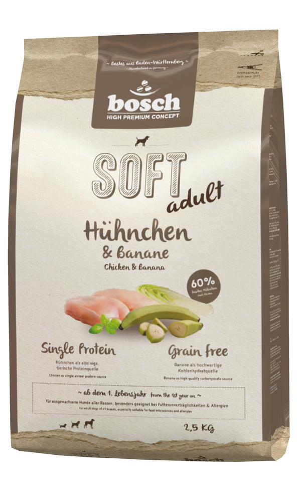 Bosch High Premium Soft Chicken & Banana Dog Food