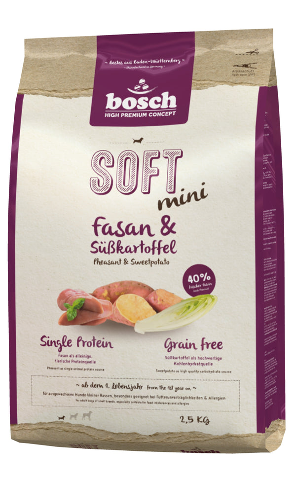 Bosch High Premium Soft Adult Mini Pheasant & Sweet Potato Dog Food