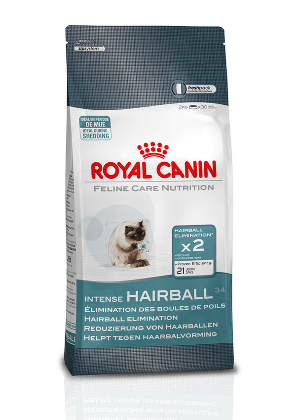 Royal Canin Feline Care Nutrition Intense Hairball 34 Cat Dry Food