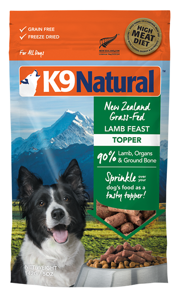 K9 Natural Freeze Dried Lamb Feast Topper