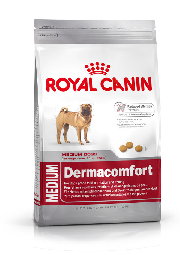 Royal Canin Medium DermaComfort 24 Dry Dog Food
