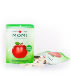 Momi Dried Apple Snack Treats for Small Animals