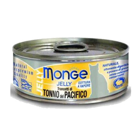 Monge Jelly Yellowfin Tuna Canned Food for Cats