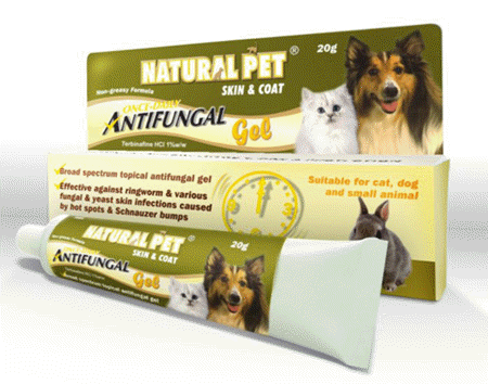 Natural Pet Antifungal Gel