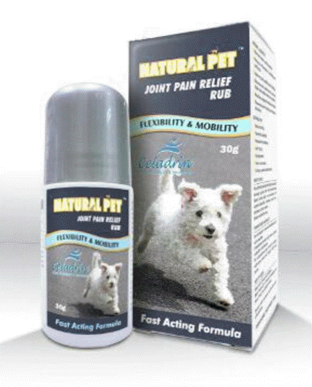 Natural Pet Joint Pain Relief Rub