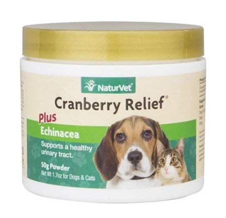 NaturVet Cranberry Relief® Plus Echinacea Powder For Dogs & Cats