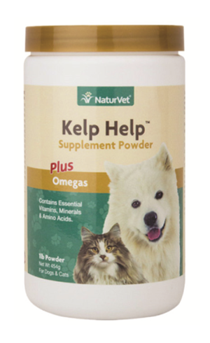 Naturvet Kelp Help Supplement Powder for Dogs Cats Pets