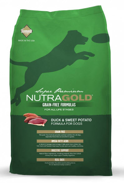 NutraGold Grain Free Duck & Sweet Potato Dry Dog Food