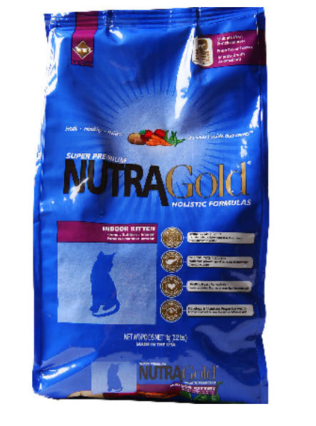 Nutragold Indoor Kitten Dry Cat Food