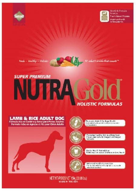 Nutragold Lamb And Rice Dry Dog Food