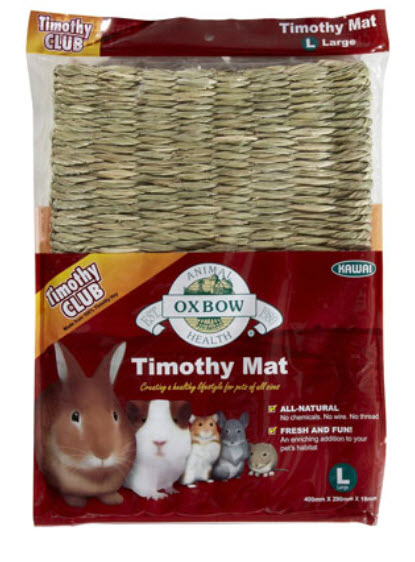 Oxbow Timothy Hay Mat for Small Animals