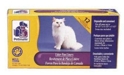 Petmate Litter Pan Liners for cat litter