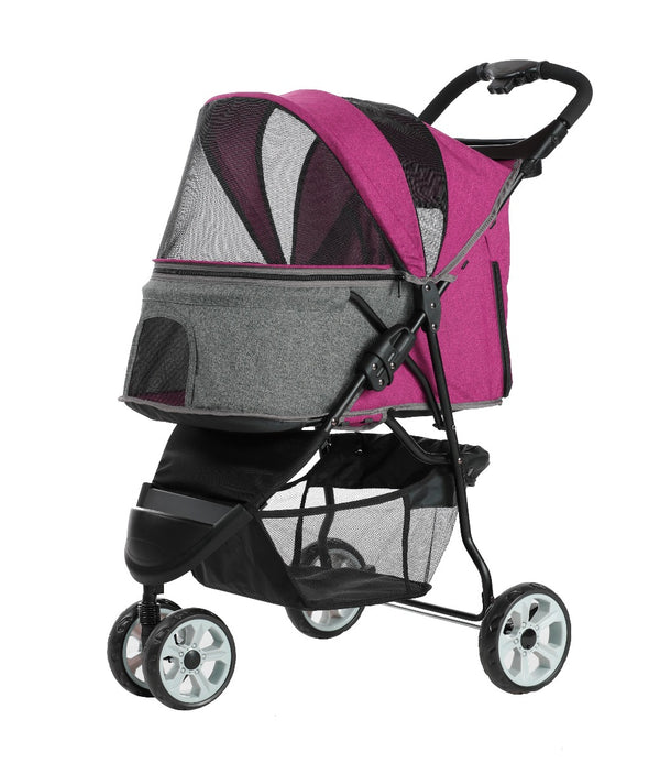 Pettyman Pet Stroller for up to 18Kg