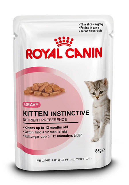 Royal Canin Feline Kitten Instinctive 12 Pouch Cat Food