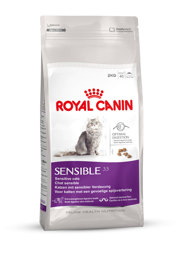 Royal Canin Feline Health Nutrition Sensible 33 Cat Dry Food