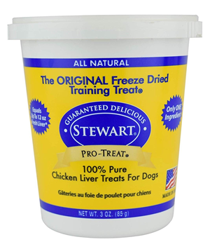 Stewart Pro-Treat Chicken Liver Freeze Dried Treats