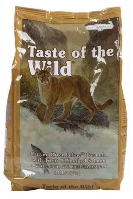 Taste of the Wild Canyon River Trout Dry Cat Food