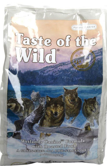 Taste of The Wild Wetlands Roasted Fowl Dry Dog Food