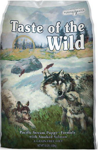 Taste of the Wild Pacific Stream Smoked Salmon Puppy Dry Dog Food